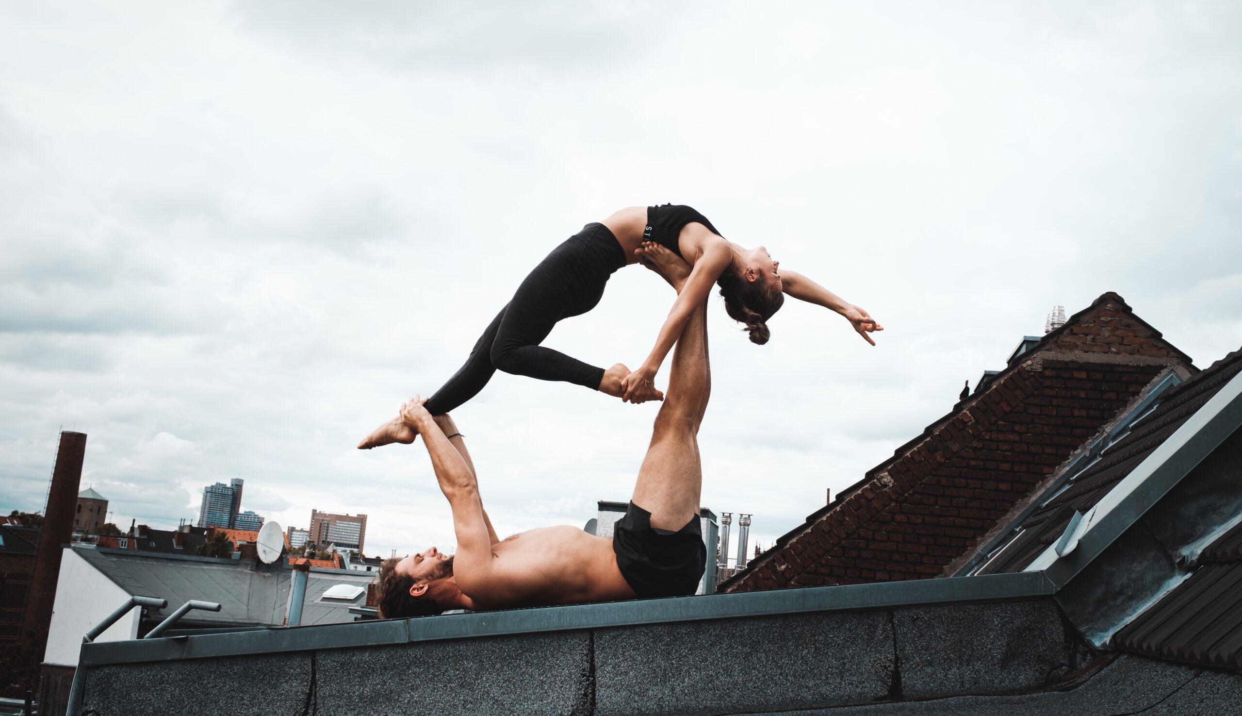 Partner Akrobatik Yoga